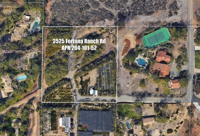 Residential Lots & Land For Sale: 3523 Fortuna Ranch Rd.