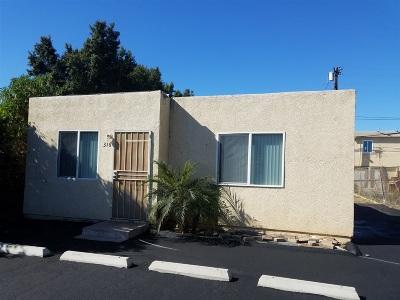 San Diego Single Family Home For Sale: 316 Ada