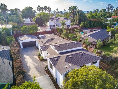 Encinitas Single Family Home For Sale: 746 Devonshire
