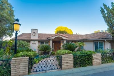 La Jolla Single Family Home For Sale: 5762 Desert View Dr