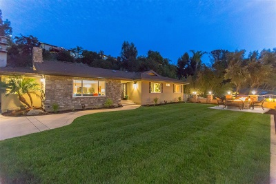 Single Family Home For Sale: 5859 Madra Avenue