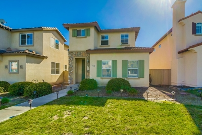 Chula Vista Single Family Home For Sale: 1930 Parker Mountain Rd.