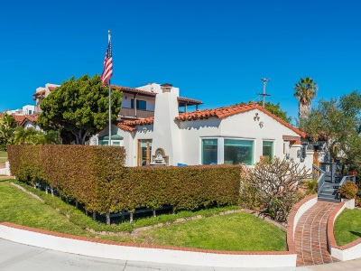 San Diego Single Family Home For Sale: 2504 Evergreen St