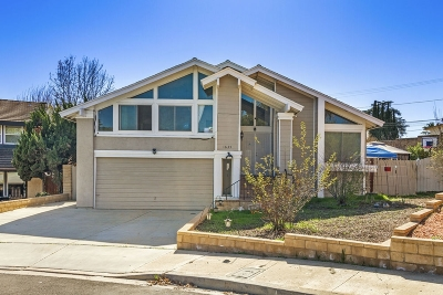 Escondido Single Family Home For Sale: 1635 Hawk Ridge Pl
