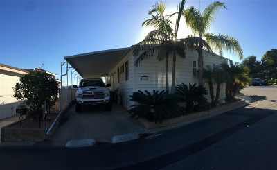Mobile/Manufactured For Sale: 444 N El Camino Real #110