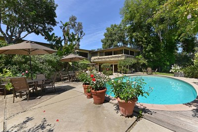 Rancho Santa Fe Single Family Home For Sale: 5516 Avenida Maravillas