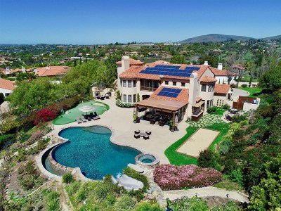 Rancho Santa Fe Single Family Home For Sale: 6188 Avenida Del Duque