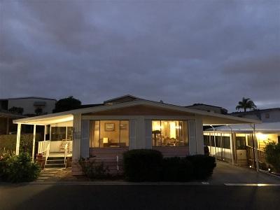 San Marcos Mobile/Manufactured For Sale: 3535 Linda Vista Drive #113