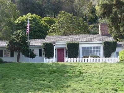 La Jolla Rental For Rent: 2585 Hidden Valley Road