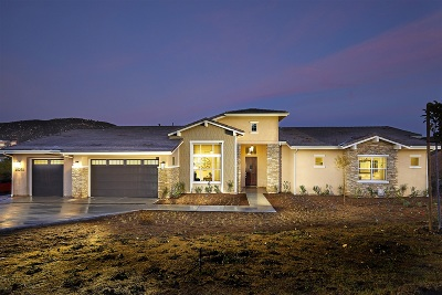 Poway Single Family Home For Sale: 15271 Sage Highlands Ct.