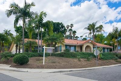 Vista Single Family Home For Sale: 615 Patricia Ln