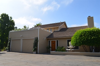 Vista Single Family Home For Sale: 1731 Monte Vista Dr