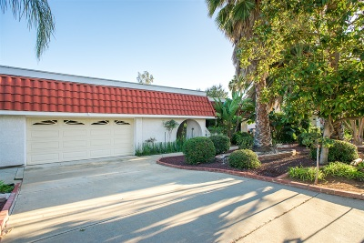Poway Single Family Home Pending: 17023 Saint Andrews Dr