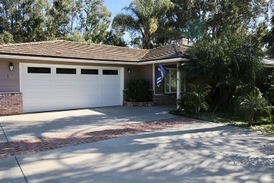 Vista Single Family Home For Sale: 2685 Foothill Dr