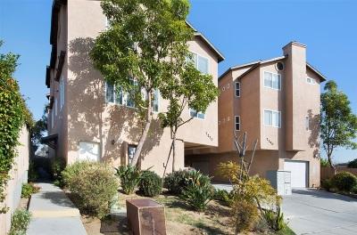 Linda Vista Townhouse For Sale: 7270 Hyatt Street #1
