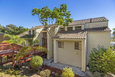 San Diego County Single Family Home For Sale: 9883 Grandview Drive