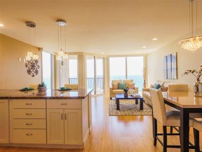 Oceanside,  Carlsbad , Vista, San Marcos, Encinitas, Escondido, Rancho Santa Fe, Cardiff By The Sea, Solana Beach Rental For Rent: 190 Del Mar Shores Terrace #24