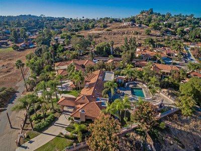 el cajon Single Family Home For Sale: 1946 Avocado Ranch