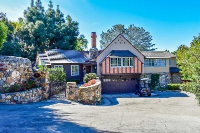 La Jolla Single Family Home For Sale: 7712 Hillside Dr