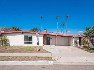 Single Family Home For Sale: 912 Holly Ave.