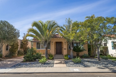 San Diego Single Family Home For Sale: 4834 Biona Drive
