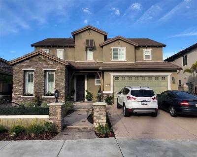 Chula Vista Single Family Home For Sale: 824 Shadow Ridge Place