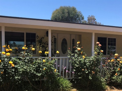San Diego County Single Family Home For Sale: 17855 Highway 67