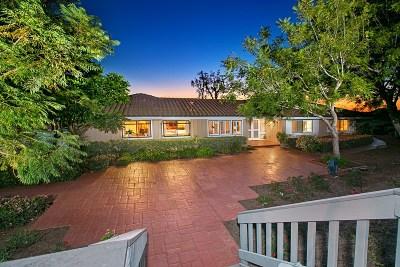 Rancho Santa Fe Single Family Home For Sale: 17570 Via Del Bravo