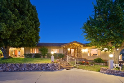 Single Family Home For Sale: 15438 Sky High Rd.