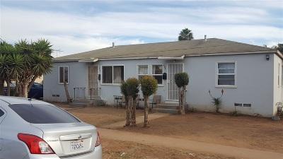 Chula Vista Multi Family 2-4 For Sale: 694-96 Chula Vista Street