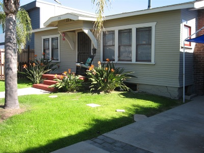 San Diego Multi Family 2-4 For Sale: 3729/3731 32nd St