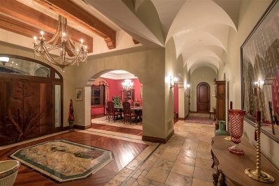 Rancho Santa Fe Single Family Home For Sale: 4512 Los Pinos