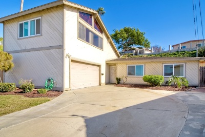 Chula Vista Single Family Home For Sale: 1035 Mission Ct