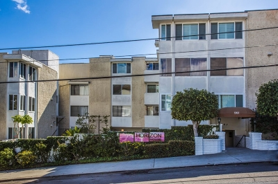 San Diego Attached For Sale: 1907 Robinson Avenue #301