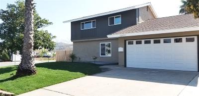 Poway Single Family Home For Sale: 14607 Aldrin St