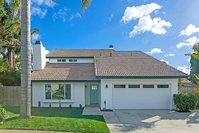 Oceanside Single Family Home For Sale: 1536 Downs St