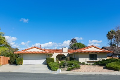 Carlsbad Single Family Home For Sale: 7626 Cortina Ct.