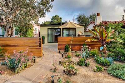 Coronado Single Family Home For Sale: 625 Alameda Blvd
