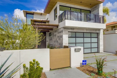 Coronado Single Family Home For Sale: 733 Tolita Avenue
