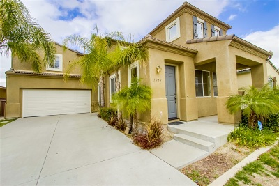 Chula Vista Single Family Home For Sale: 1757 Bouquet Canyon Road