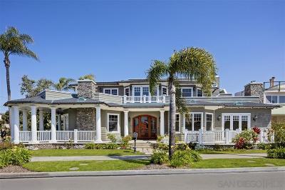 Coronado Single Family Home For Sale: 1330 Glorietta Blvd