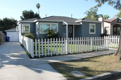 San Diego Single Family Home For Sale: 4742 Rolando Blvd