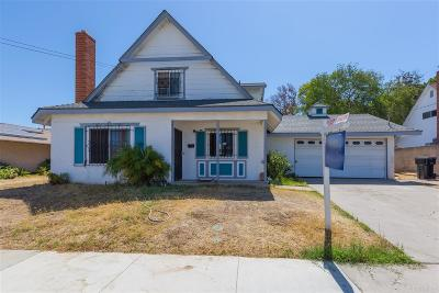 San Diego Single Family Home For Sale: 305 Los Reyes Drive
