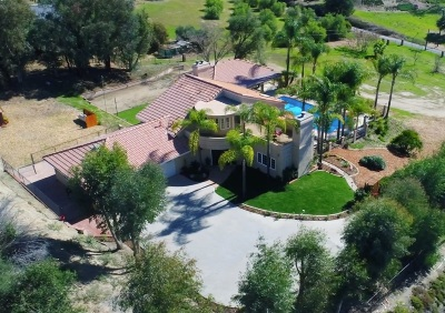 Fallbrook Single Family Home For Sale: Road