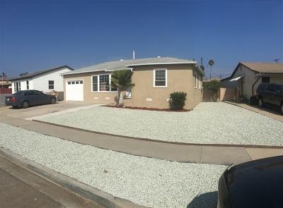 Chula Vista Single Family Home For Sale: 683 Robert Ave