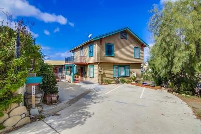 San Diego Multi Family 2-4 For Sale: 2524-2526 Horton Ave