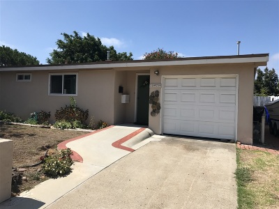 Clairemont, Clairemont East, Clairemont Mesa, Clairemont Mesa East Single Family Home For Sale: 4615 Sauk