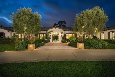 Rancho Santa Fe Single Family Home For Sale: 4438 La Noria