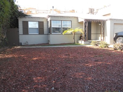 San Diego Single Family Home Pending: 3027 Keats Street