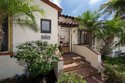 Coronado Multi Family 2-4 For Sale: 825-27 Olive